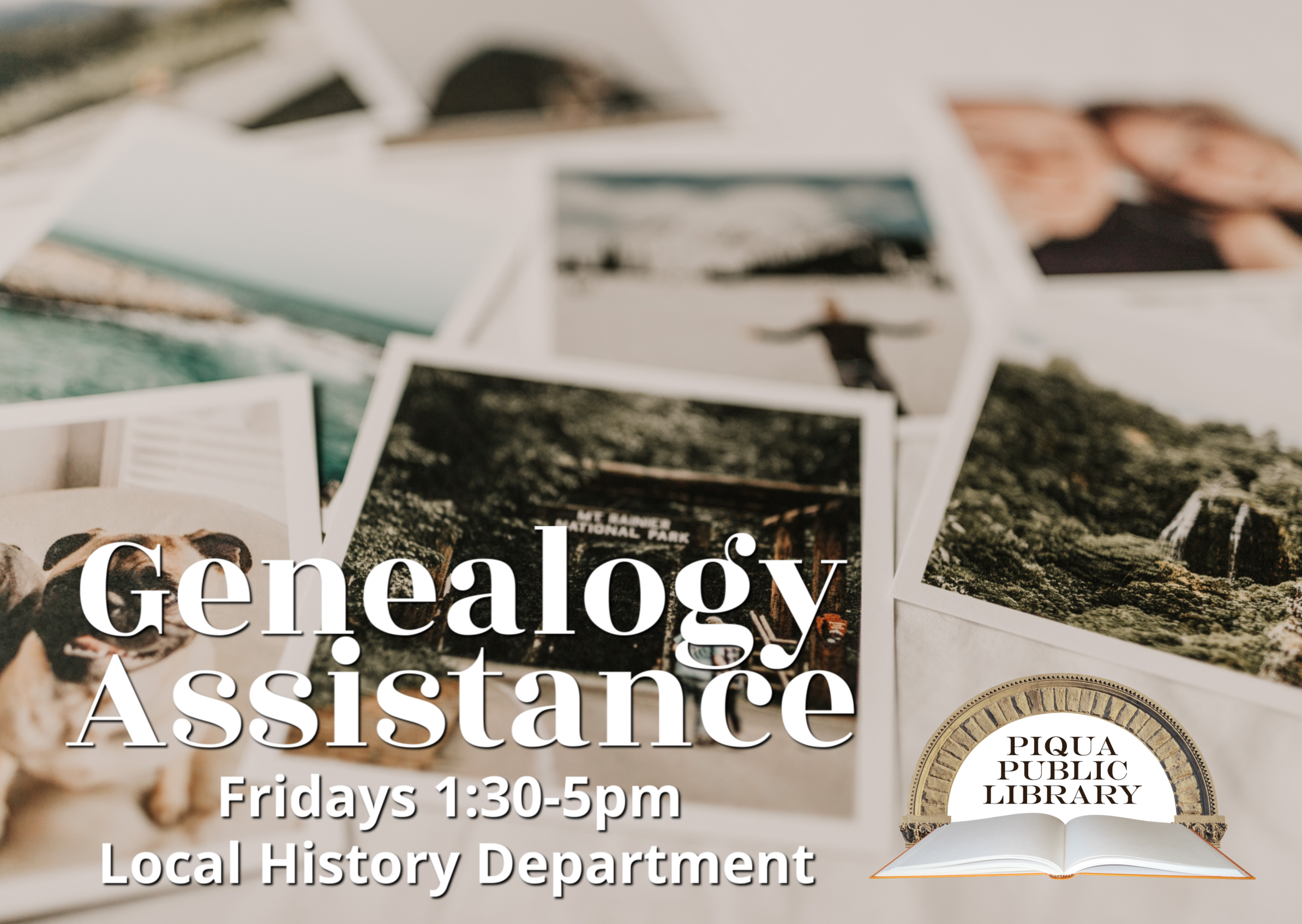 Would you like personalized genealogy assistance? Come to