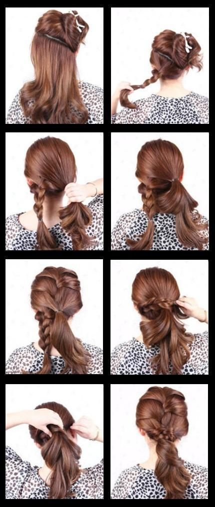 How to do hairstyles tutorials step by step for long hair medium french braid hairstyle long hair braids how to diy hair hairstyles french braid hair tutorials easy hairstyles solutioingenieria
