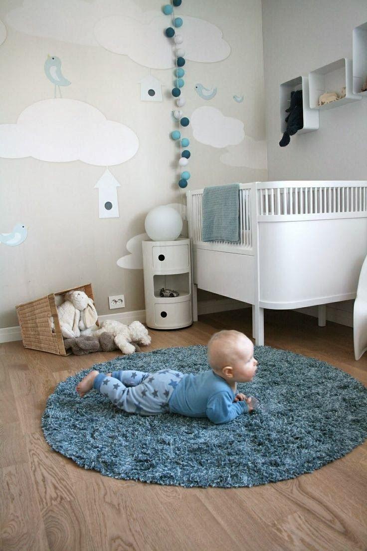 Guirnaldas De Luz Para Decorar Cuartos Para Bebes Varones Cuarto De Bebe Dormitorio Bebe