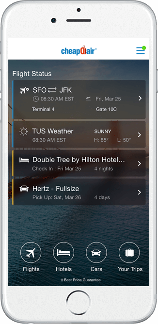 Free Travel App for iPhone, iPad & Android Mobile Phones
