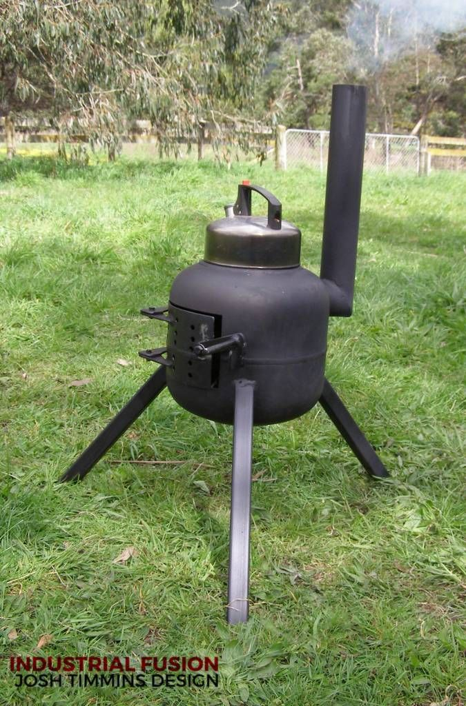 Industrial Fusion Furniture Cookers and Rocket Stoves