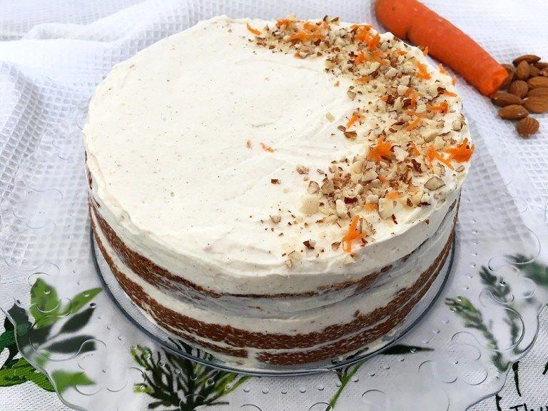 Tarta De Zanahoria Sin Gluten Delikatissen Tarta De Zanahoria Decoración De Pastel De Zanahoria Torta De Zanahoria