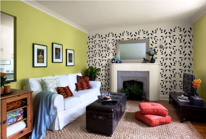 Accent Wall Ideas You Ll Surely Wish To Try This At Home Painted Bedr Accent Walls In Living Room Living Room Color Schemes Paint Colors For Living Room