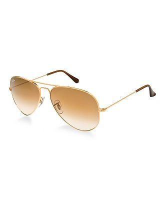 ray ban aviator solbriller rb3025 58