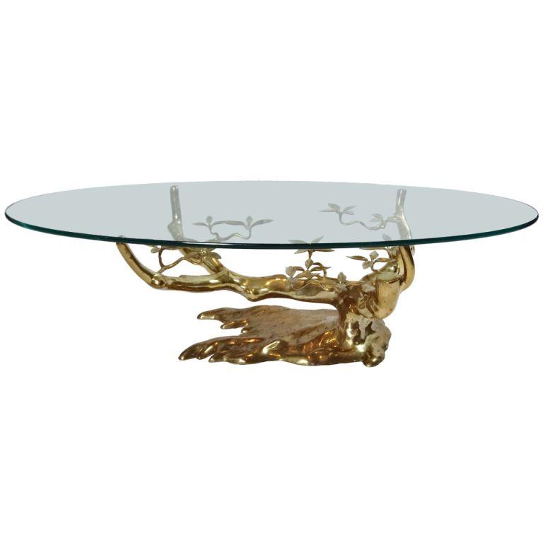 1stdibs.com | Bronze Coffee Table