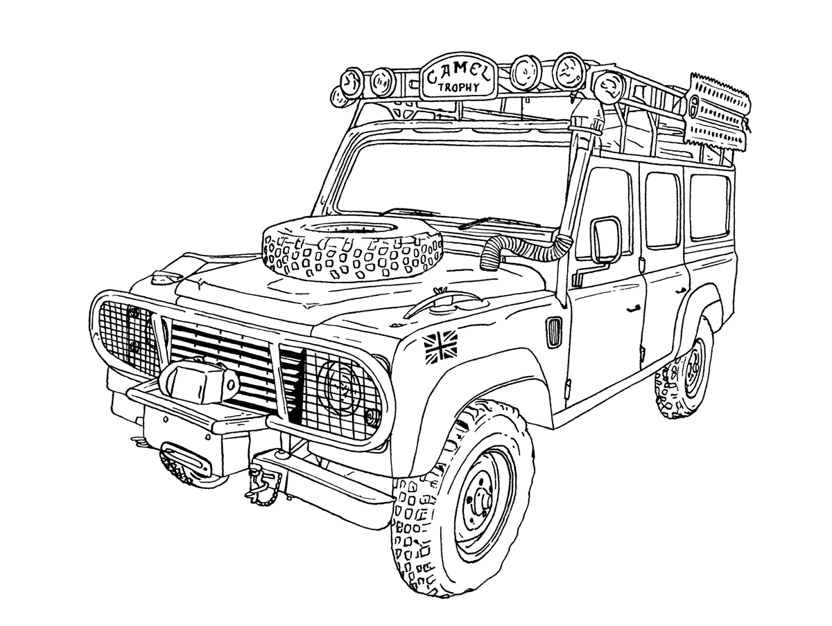 LAND ROVER BOOKLET on Behance  1e9f8cc3d1a71