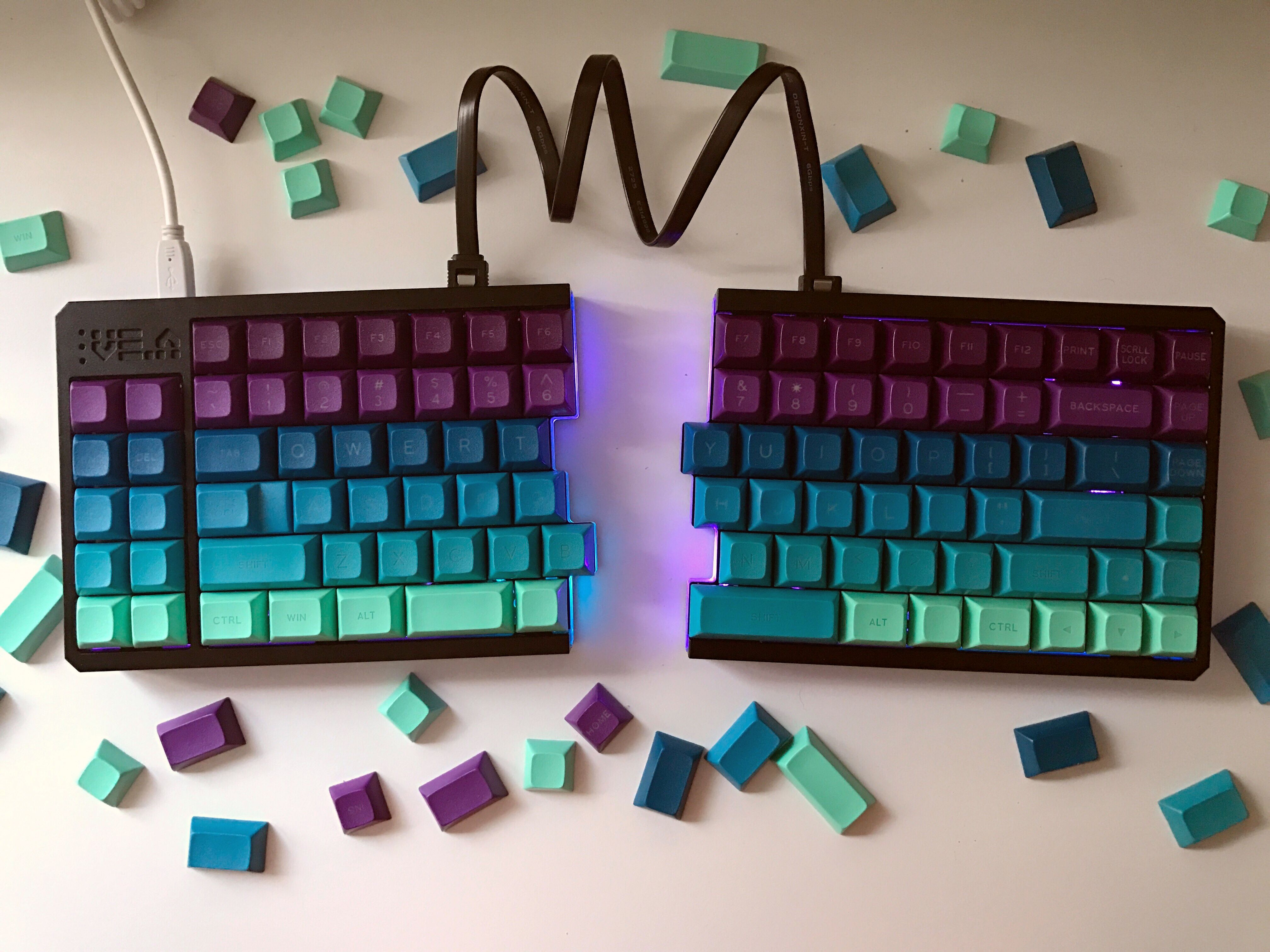 VE.A with DSA Borealis Keyboard, Keyboard lessons, Pc