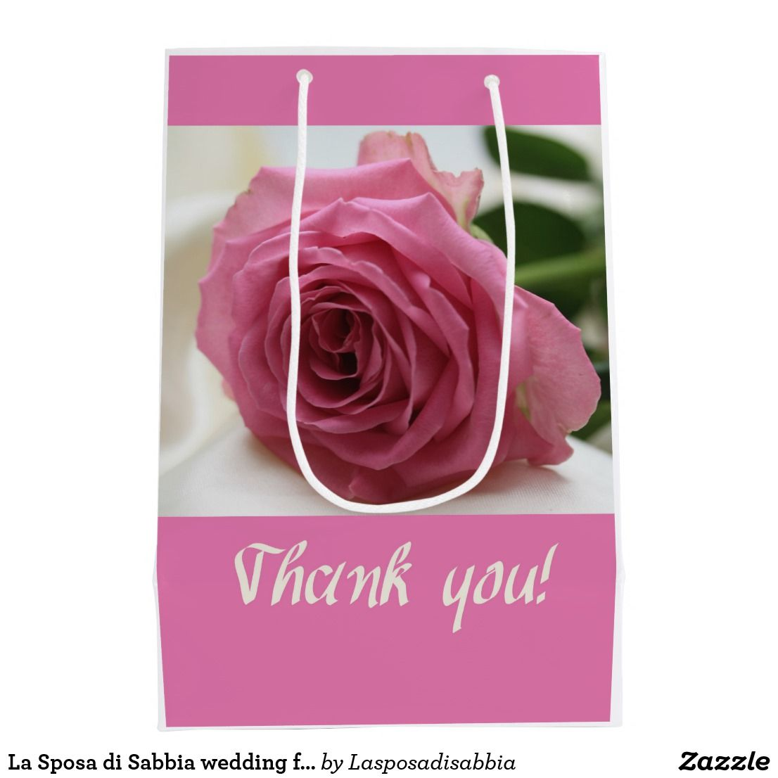 La Sposa di Sabbia wedding favor Medium Gift Bag | La sposa, Favors ...