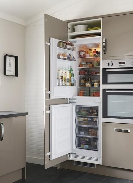 Lamona Integrated 50 Fridge Freezer
