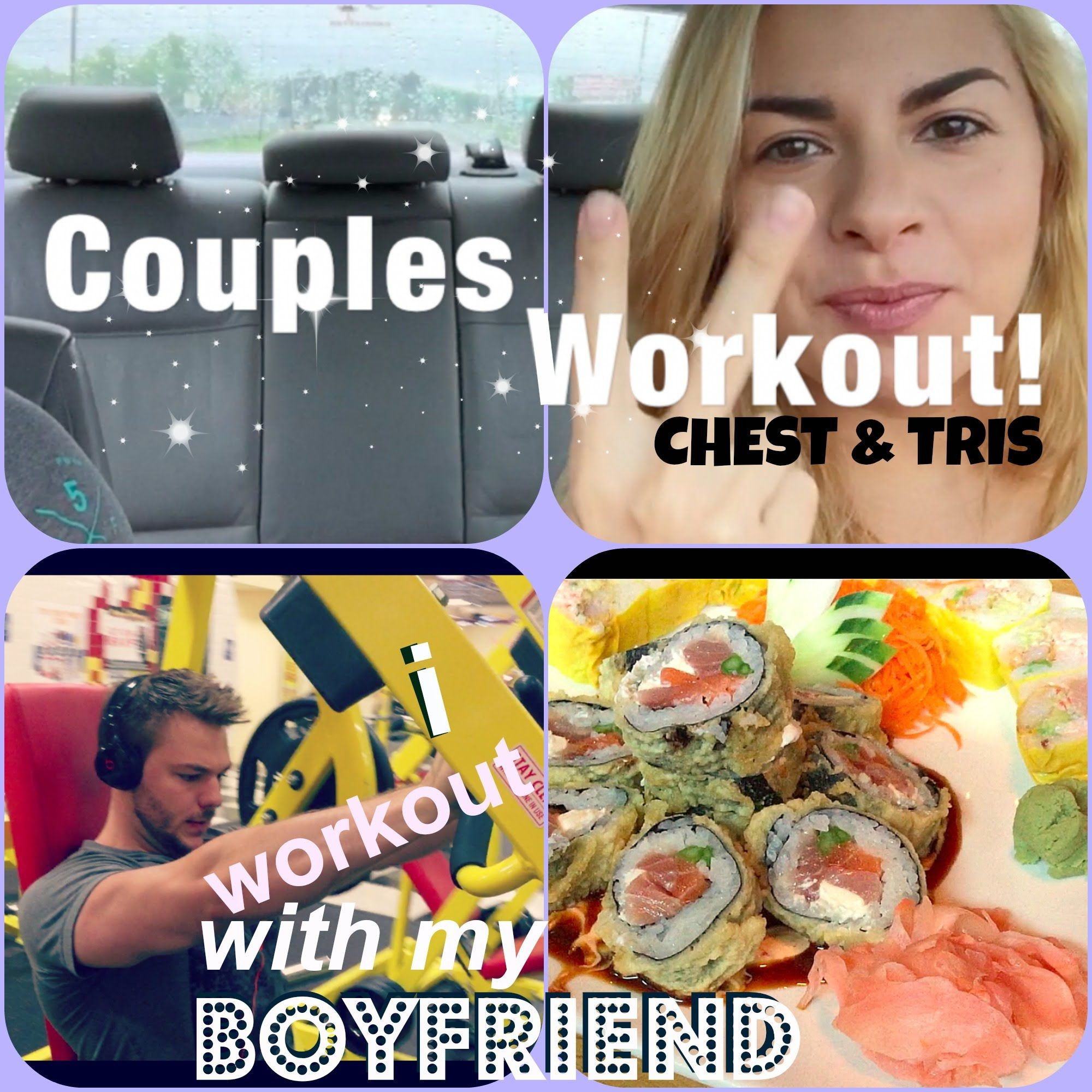 I #WORKOUT WITH MY #BOYFRIEND ep. 2 chest & tris + current physique + JAPA... #fullWorkout #videos #fitness #howTo #girl #couples #chest #tris #gym