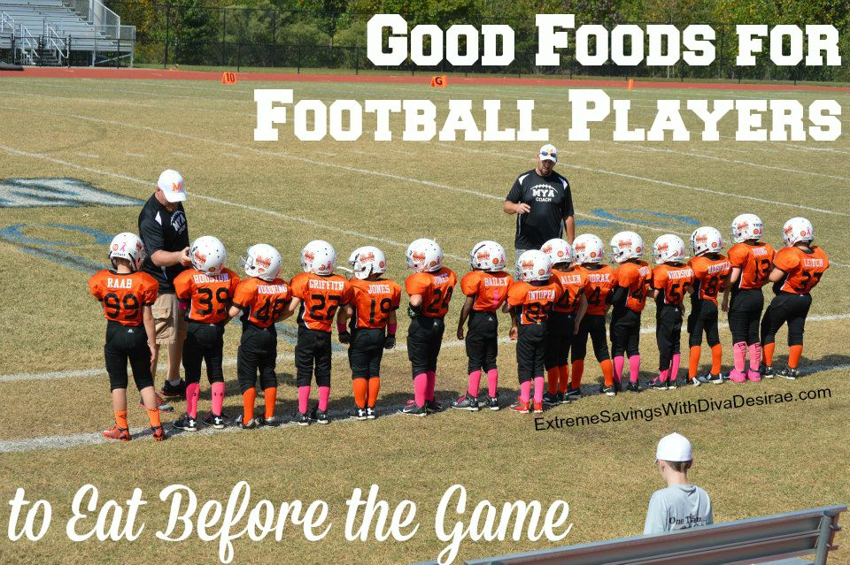 Good Foods For Football Players to Eat Before The Game