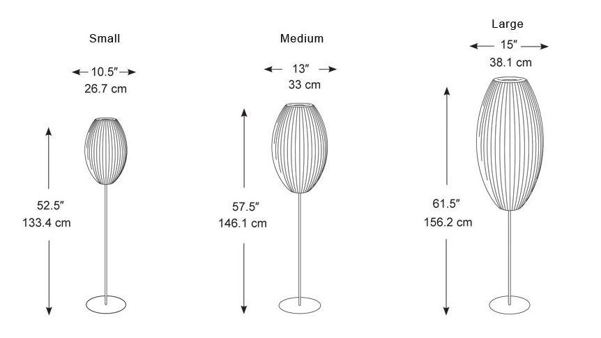 Nelson Bubble Lamp Cigar Floor Lamp Nelson Bubble Lamp Bubble Lamps George Nelson Bubble Lamp