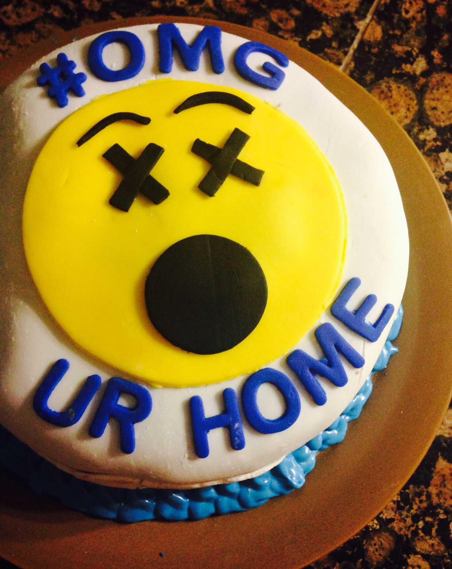 Welcome Home Cake Nanny Life Pinterest Cake Welcome Home