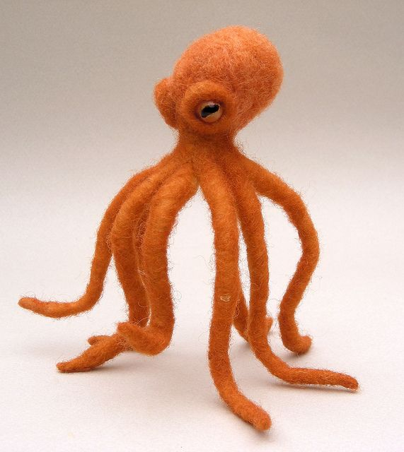 another amazing felted octopus