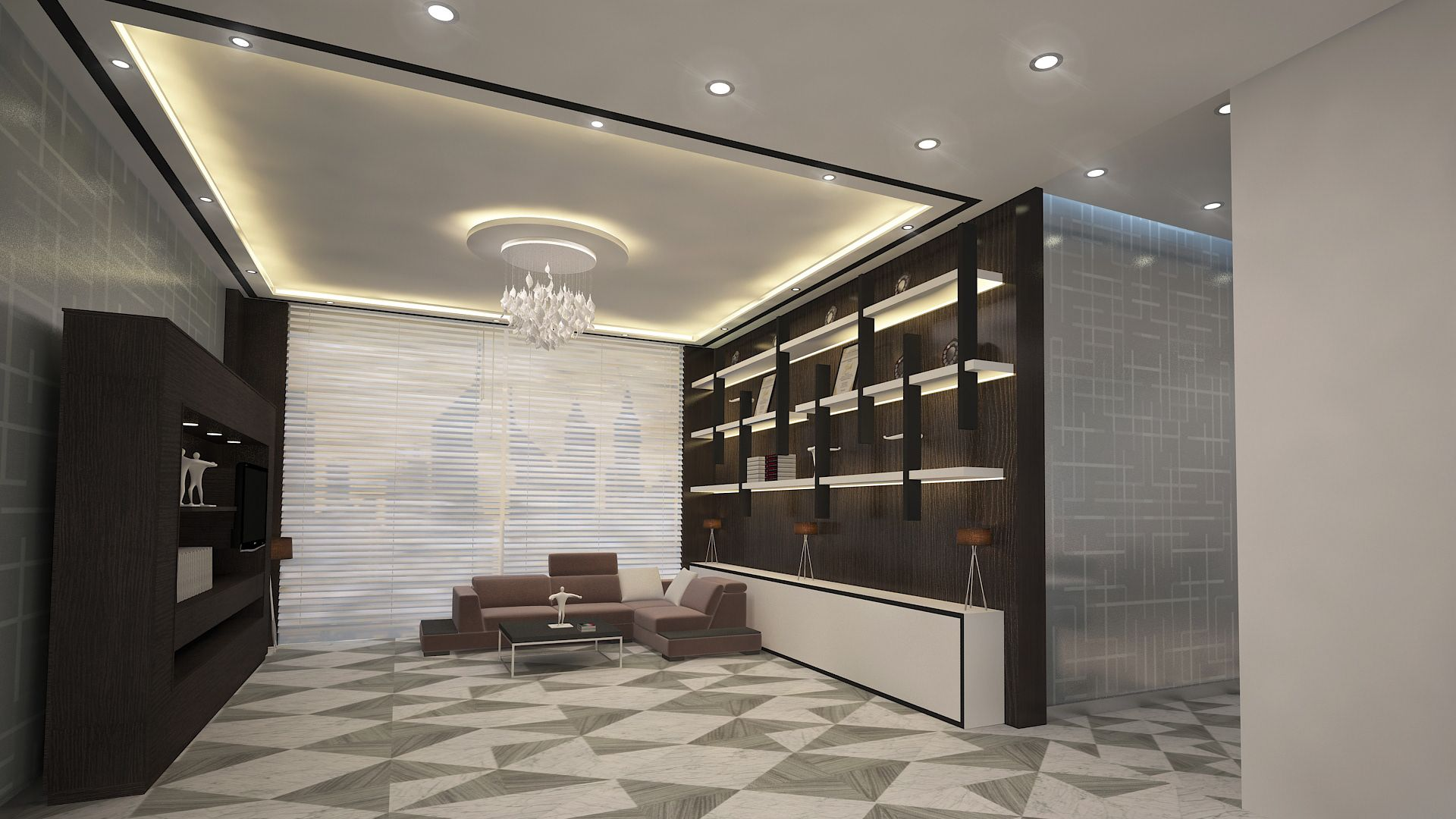 Check Out My Behance Project Interior Design Office