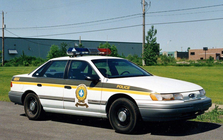 1992 Ford Taurus Surete Du Quebec Canada