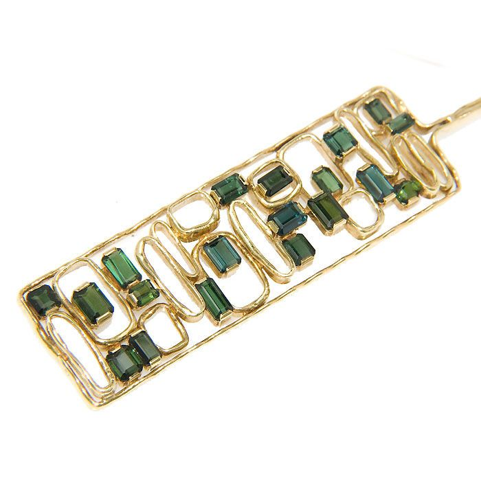 I have an H. Stern emerald bracelet, this is a very very cool one. vl