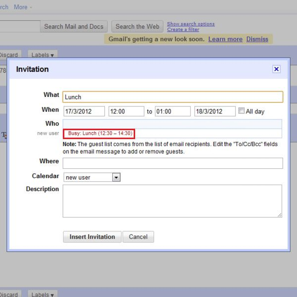 how to create calendar invitations within gmail howtech News to Go