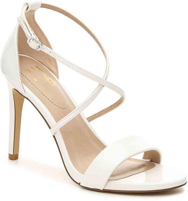 ec42dbceb00 Women Zaydia Sandal -White Faux Patent Leather