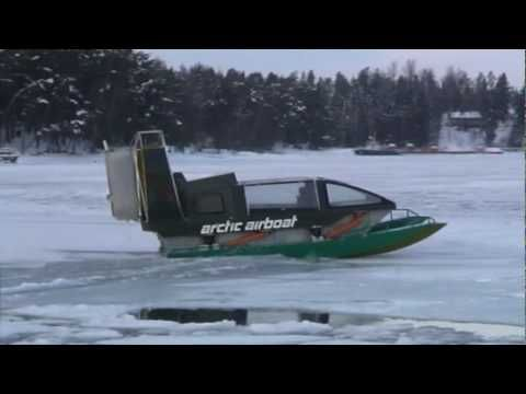 Arctic Airboat Amphibian 450D - YouTube | Off Road | Yacht