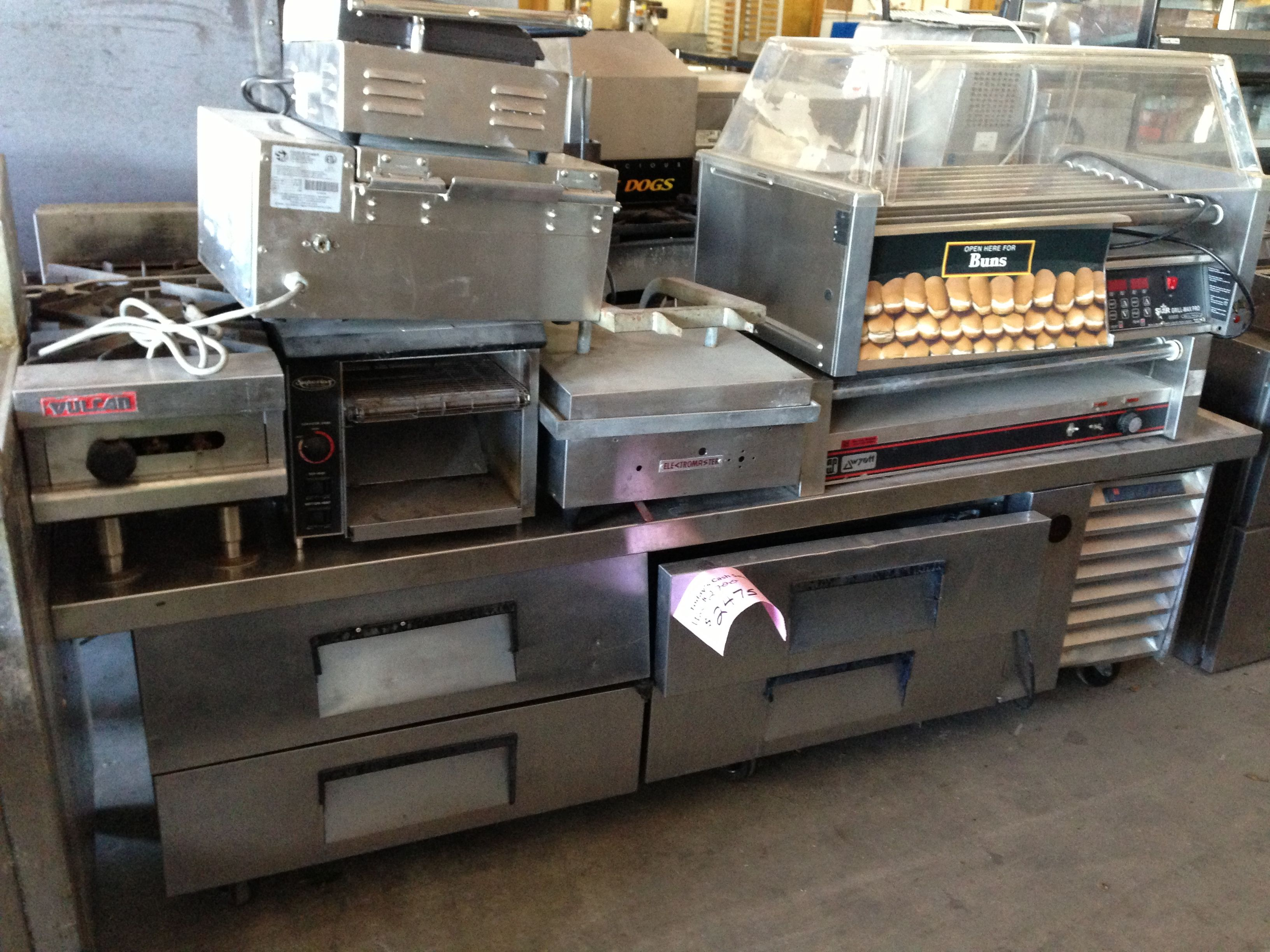 Used tables and chairs for restaurant - All Your Used Restaurant Equipment Needs Used Ovens Used Alto Shaams Used Prep
