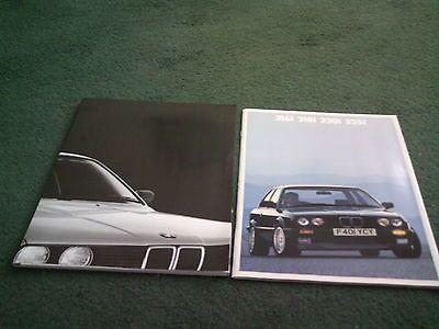 1988 1989 #almondbury garage bmw 316i 318i 320i 325i - uk 2/88 #brochure + #folde,  View more on the LINK: http://www.zeppy.io/product/gb/2/121832097818/