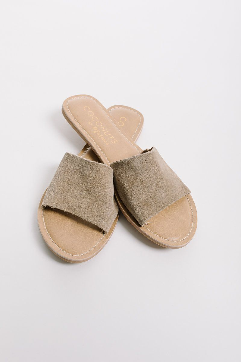 586f3d75ebaad4 Coconuts by Matisse  Cabana Slide in Grey Suede