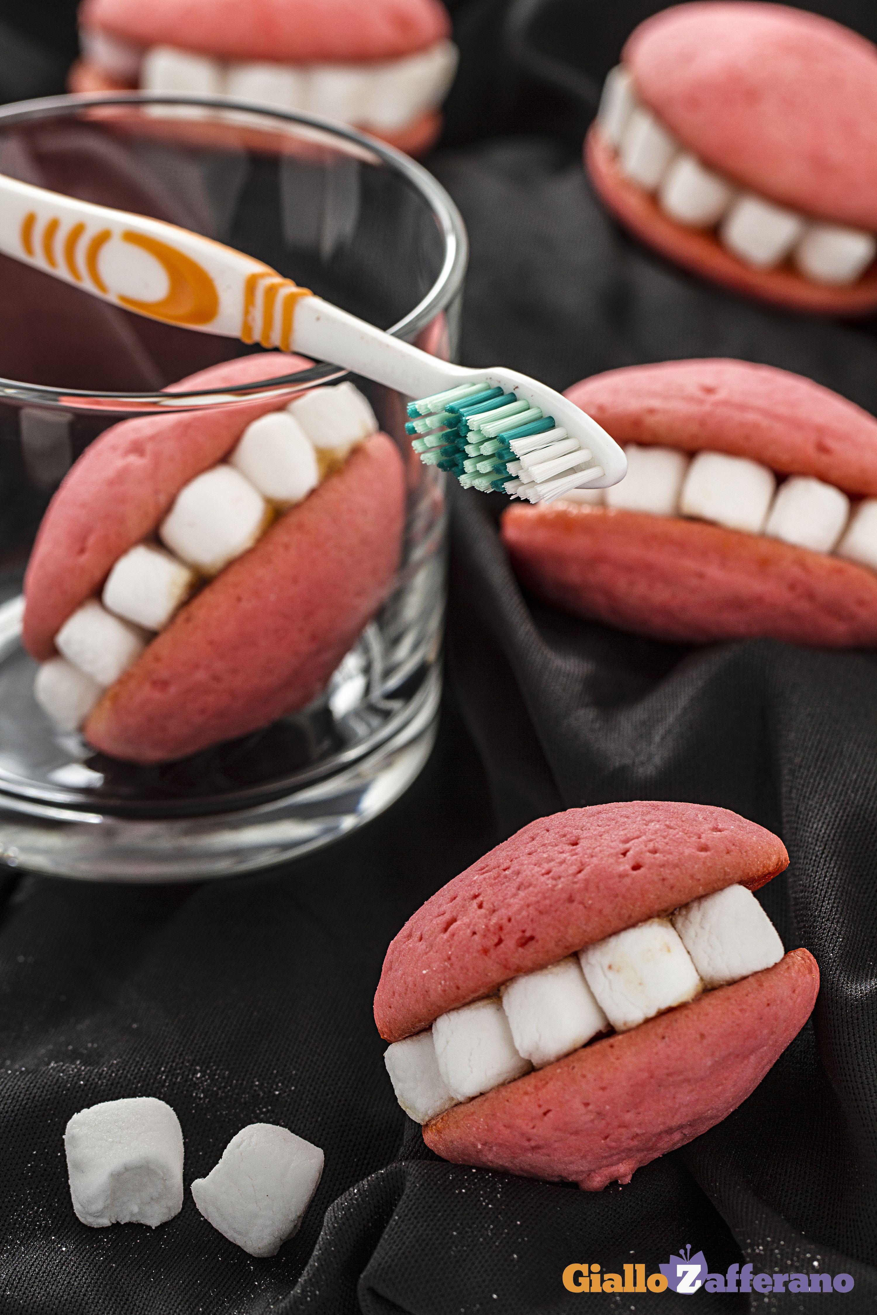 Dentiere | Ricetta | ..cucina, decorazioni da mangiare | Pinterest ...