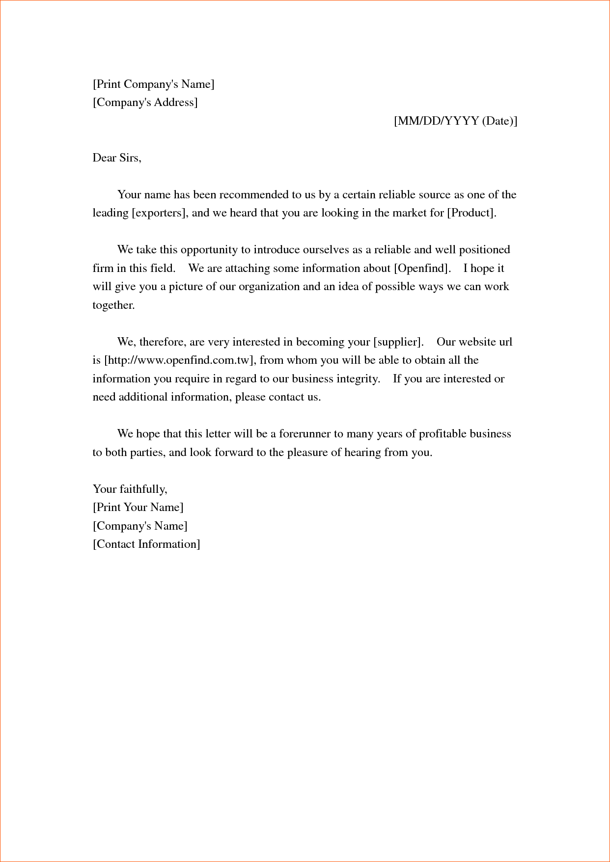 [ Company Introduction Letter Sample Format Cover Templates Resume  Verification Letters Pdf ]   Best Free Home Design Idea U0026 Inspiration  New Product Introduction Letter Template