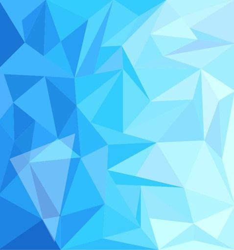 Blue Low Poly Design Abstract Background Vector Illustration