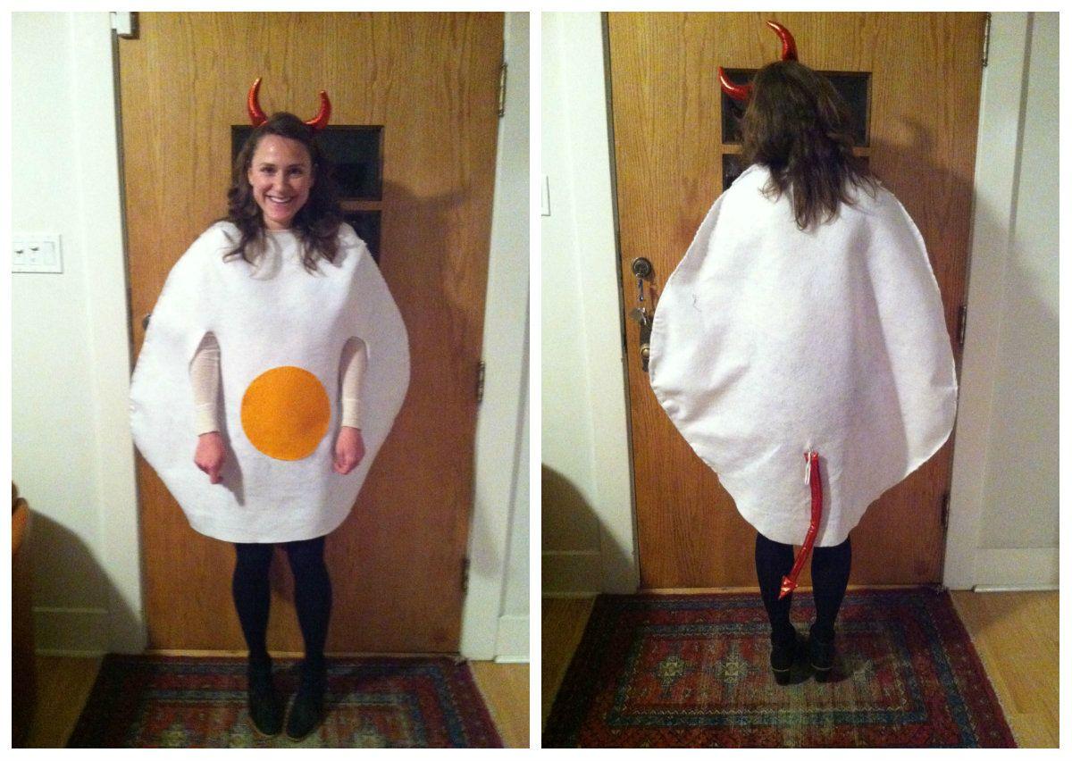 This Week On Good Food Haunted Restaurants Foodie Halloween Costumes Orange Wine Cool Halloween Costumes Deviled Egg Costume Halloween Costumes