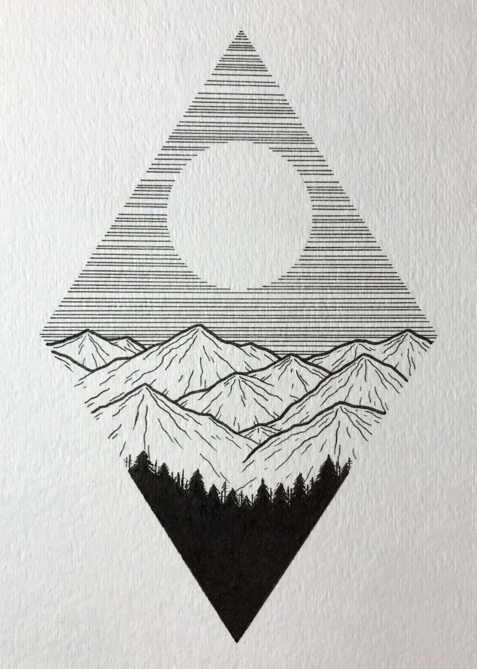 Linework Art Sketch - Linework Art Sketch