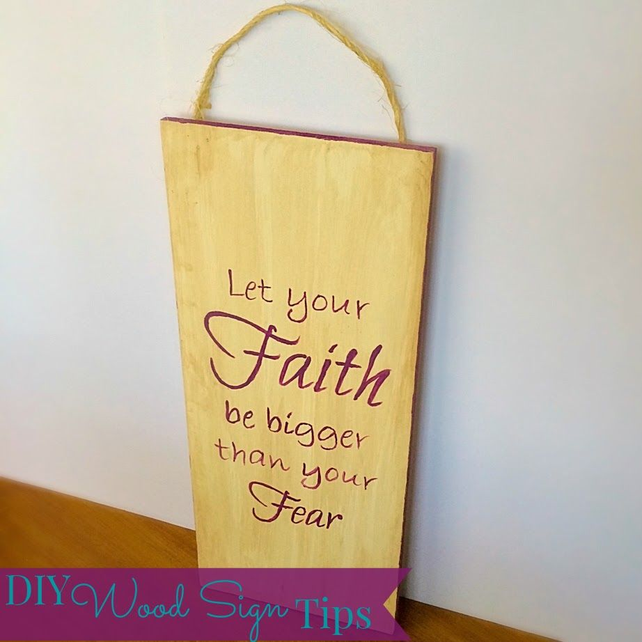 DIY Wooden Sign Tips   Decoration, Wall decor and Decorating