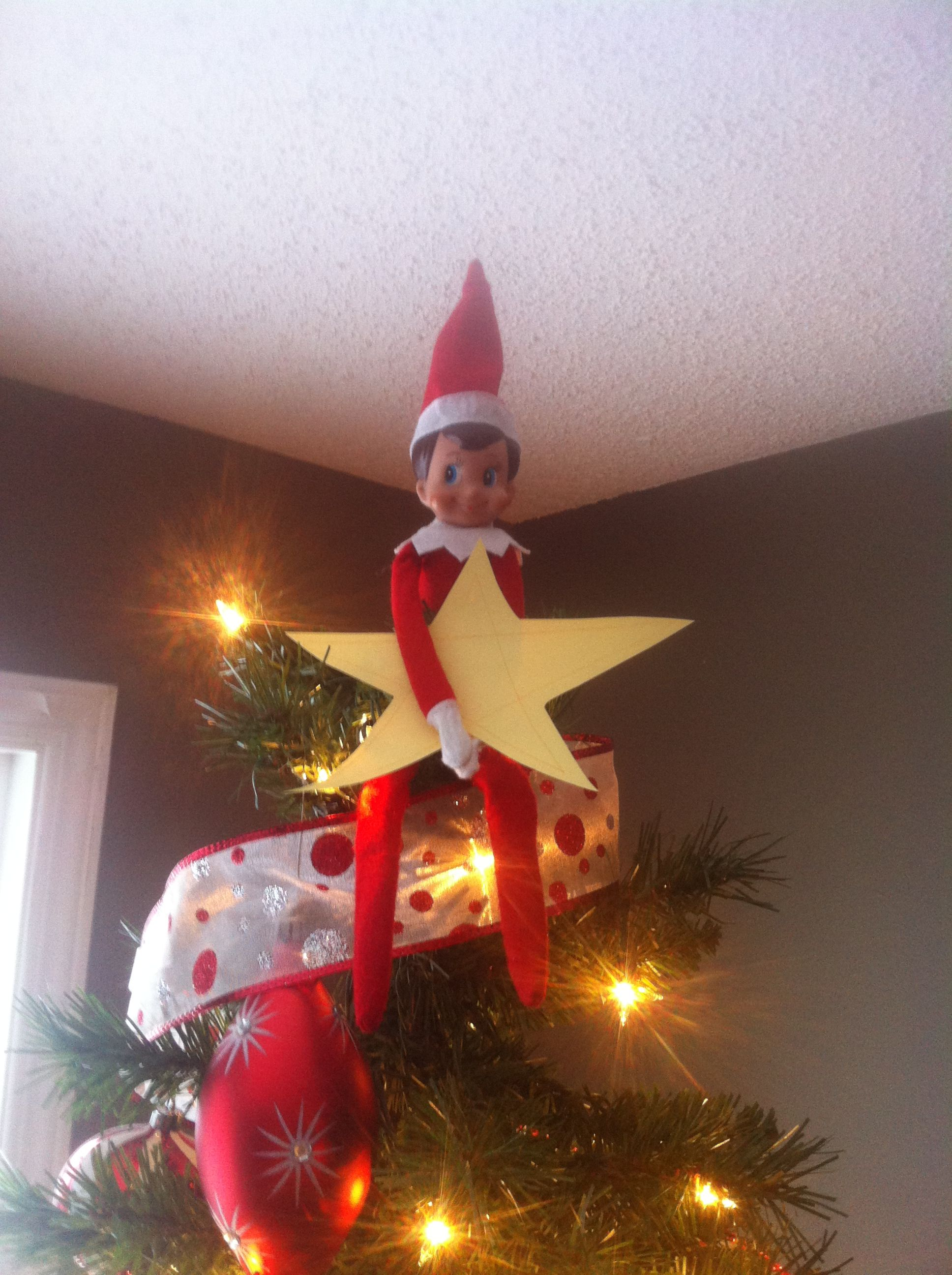 Tree star elf