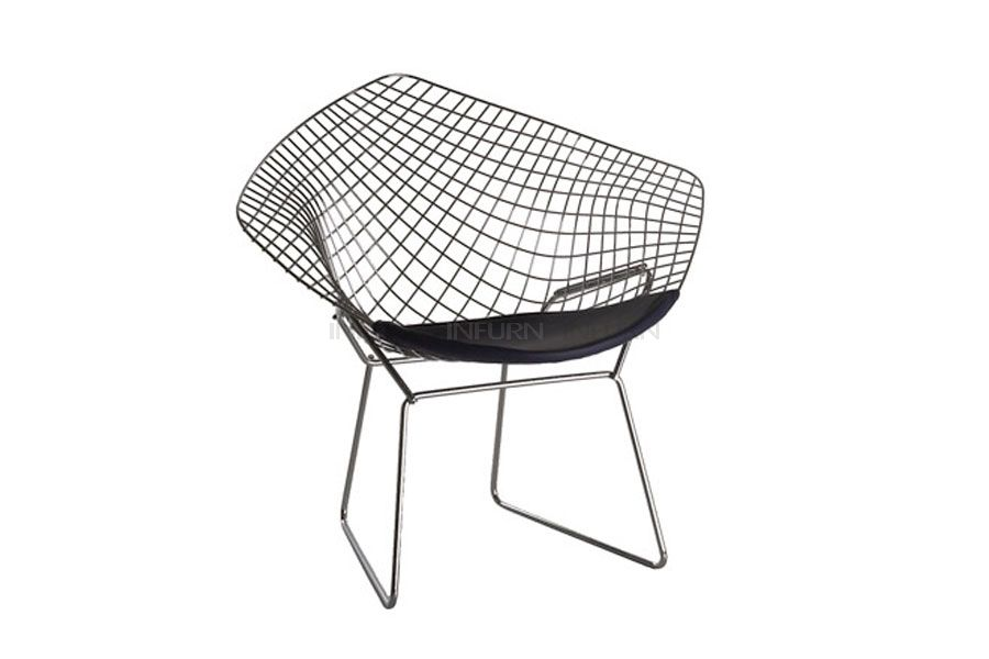 Harry Bertoia Chaise Diamant
