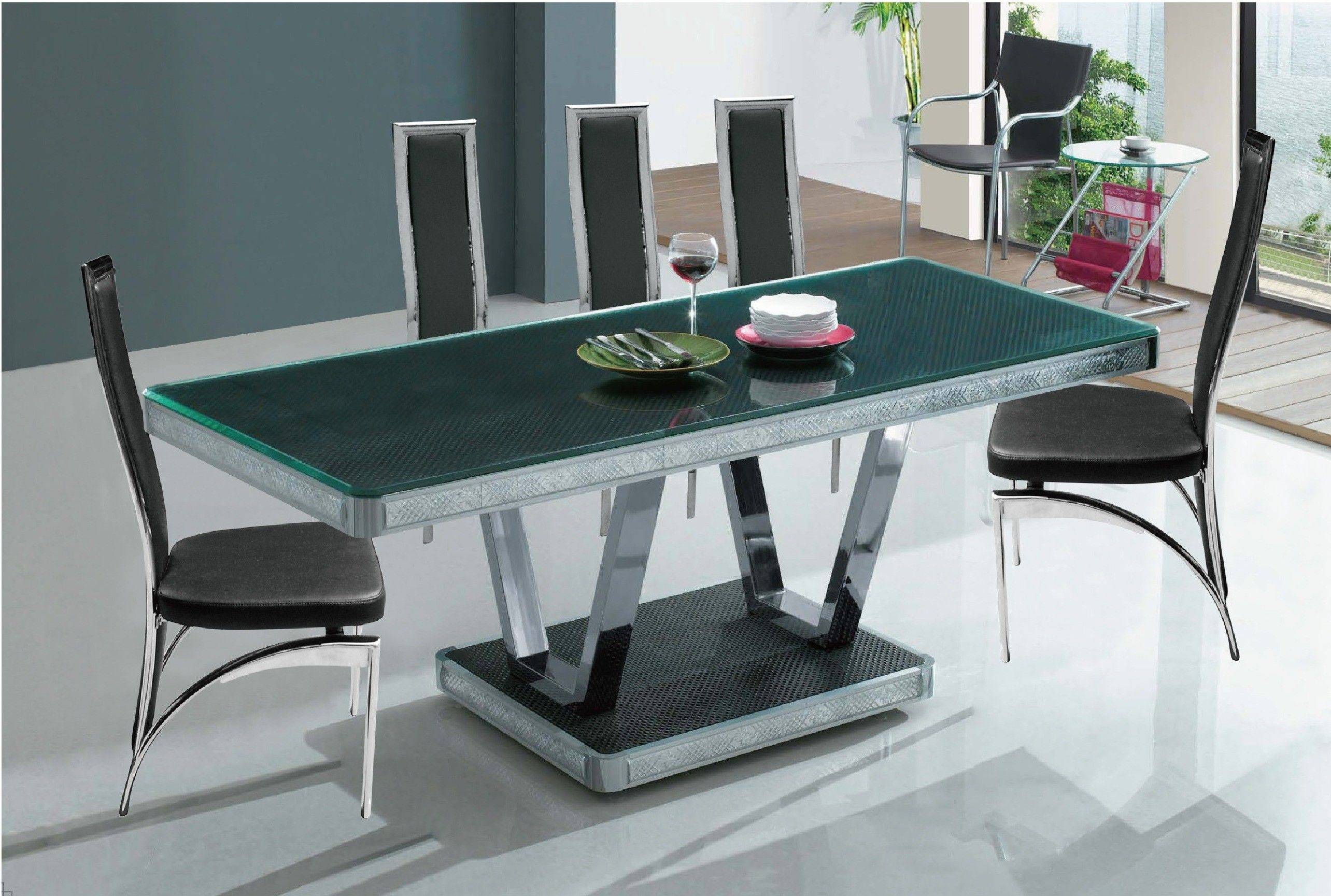 The Dining Table Is Important From Several Different Points Of Fascinating Metal Dining Room Furniture Design Ideas