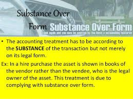 Image result for Substance over Form