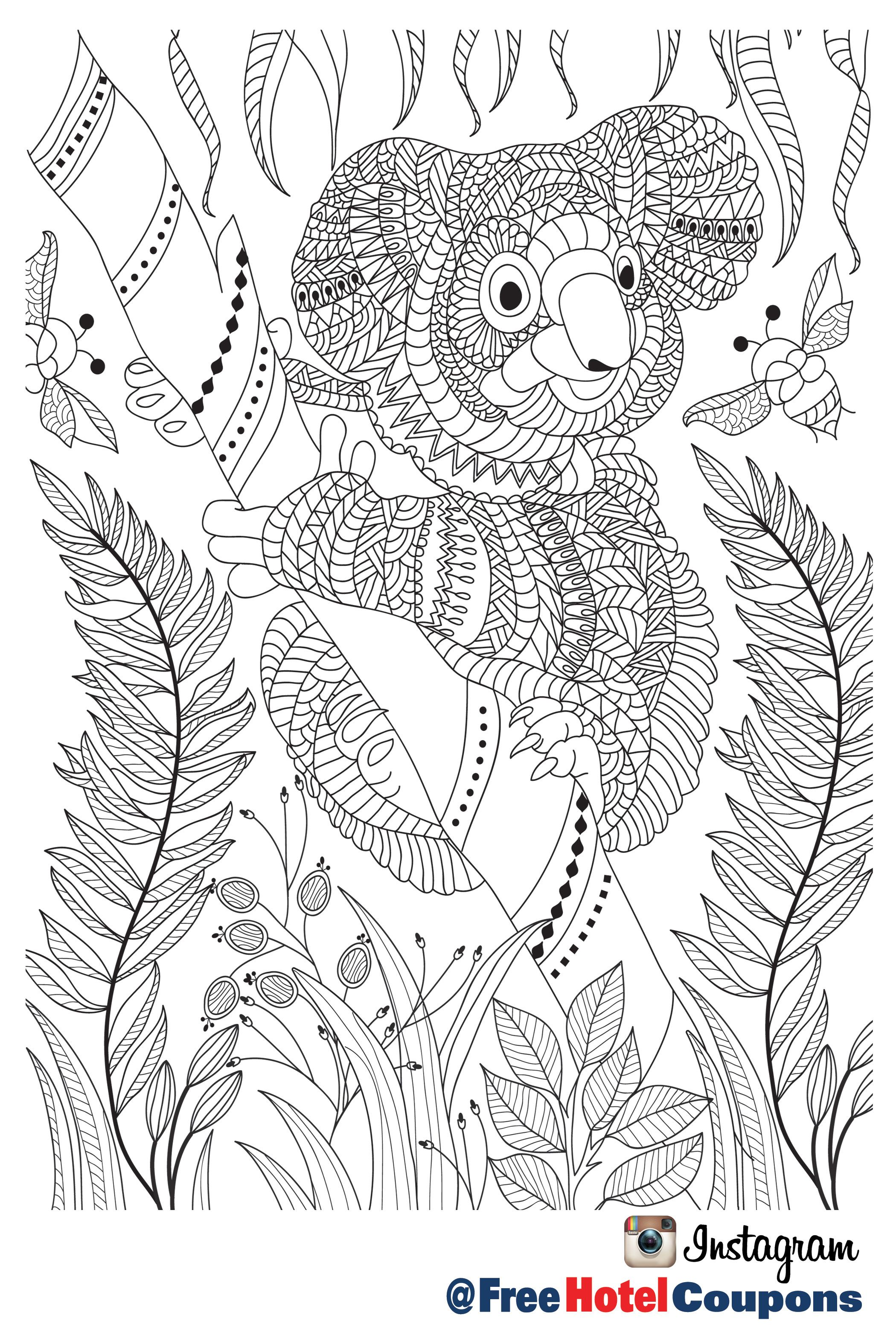 Pin von Free Hotel Coupons auf Coloring Pages | Pinterest ...