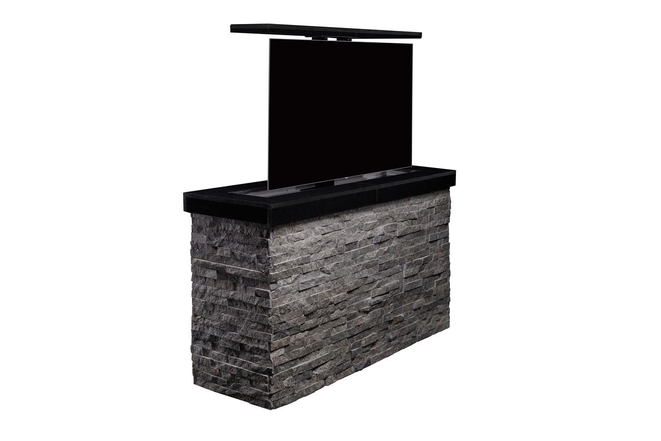 Cabinet Tronix Outdoor Hidden Tv Lift Furniture Island Protects 55 Inch Tv And Hides It Away In Rancho Santa Fe B Tv Lift Cabinet Outdoor Tv Cabinet Outdoor Tv