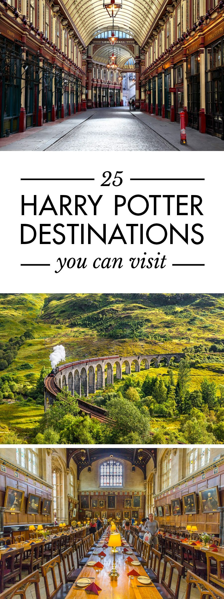 25 Harry Potter Destinations You Can Visit in Real Life | Road Affair -  25 Harry Potter Destinations You Can Visit in Real Life. The Ultimate Harry Potter Travel Bucket Li - #affair #BudgetTravel #destinations #harry #life #potter #Real #Road #RomanticTravel #ShoppingTravel #TravelBucketLists #visit