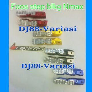 Step belakang Bikers yamaha NMAX | Footstep belakang Yamaha Nmax | Modifkasi Yamaha NMax | Step belakang CNC yamaha NMax | PNP ke Nmax