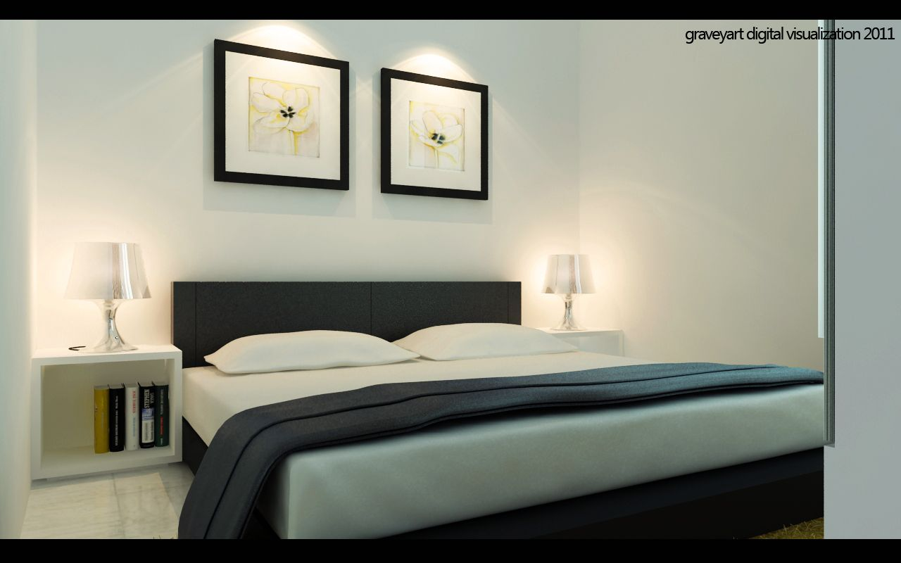 Classy White Bedroom Design And Style With Arrangement Great Decor ...