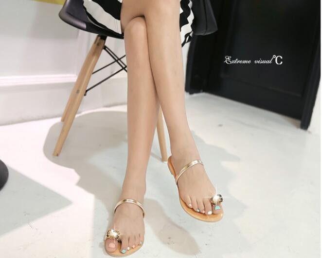 20455fa76e0cb NEW 2016 Black Nude Valentine Brand Designer Flip Flops Women Flat Female  Slippers Summer Shoes With