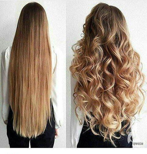 I capelli a prova di taglio smussato possono sembrare molto arricciati. #blunt #curled #Taglio #grande #Peloso #h …