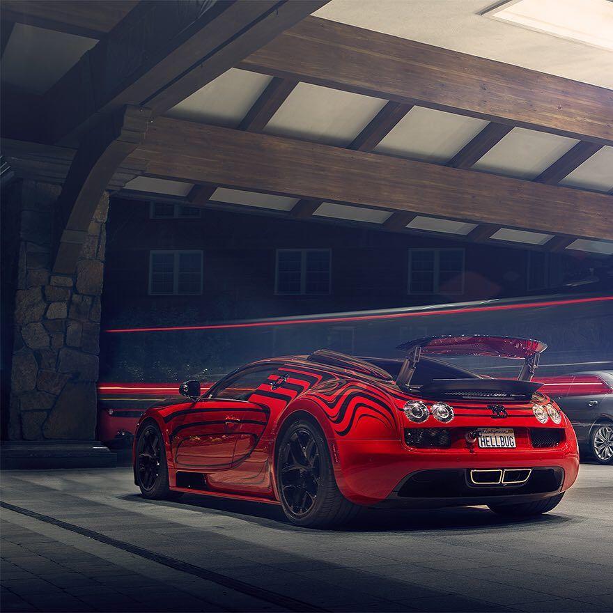 """""""HELLBUG"""" Bugatti Veyron ________________________ PACKAIR"""