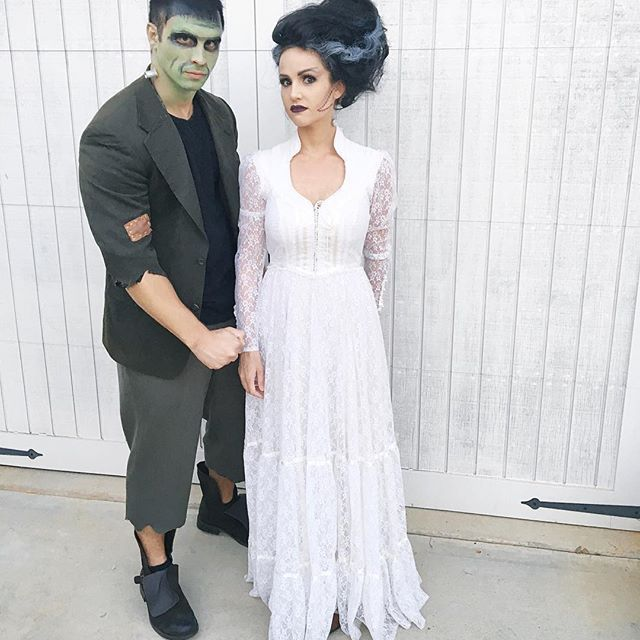 Diy Frankenstein Costume Bride Of Frankenstein Costume