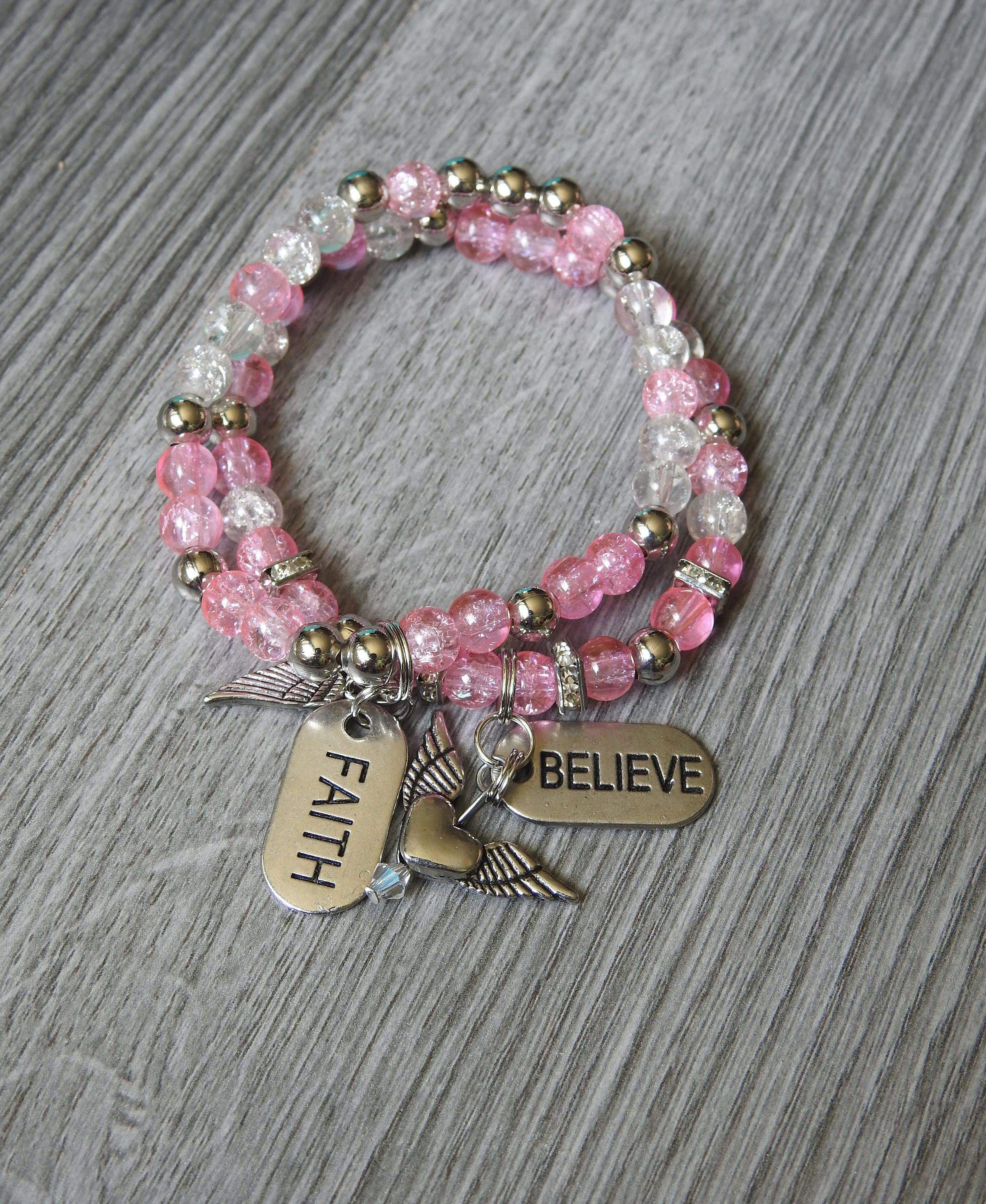 jewelry listing gallery bracelet il survivor fullxfull breast cancer photo dlza charm rings gift