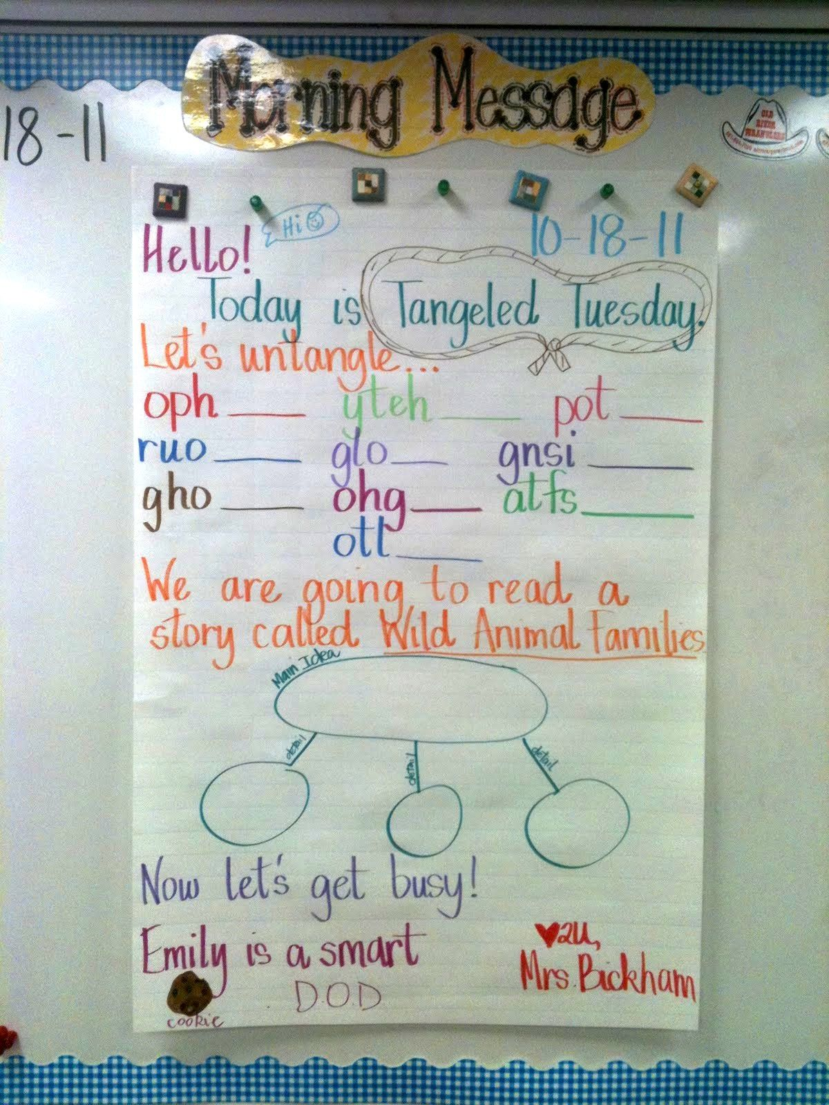 Tangled Tuesday Unscramble Words Or High Frequency Words Or Sentences Like As A Quick Whole
