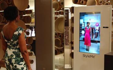 John Lewis Cisco Styleme Mirror Virtual Dressing Room Bedrooms And Dressingrooms Pinterest