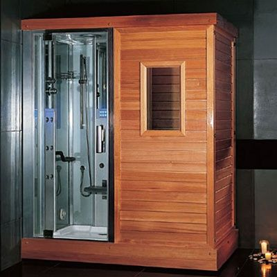 Ariel Platinum Ds201 Steam Shower Dry Sauna Room Combo Unit Steam Shower Enclosure Steam Room Shower Master Bath Shower